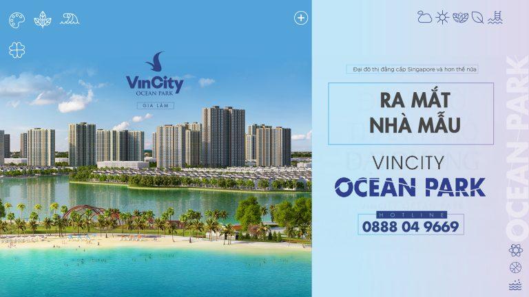 Lễ ra mắt căn hộ mẫu VinCity Ocean Park